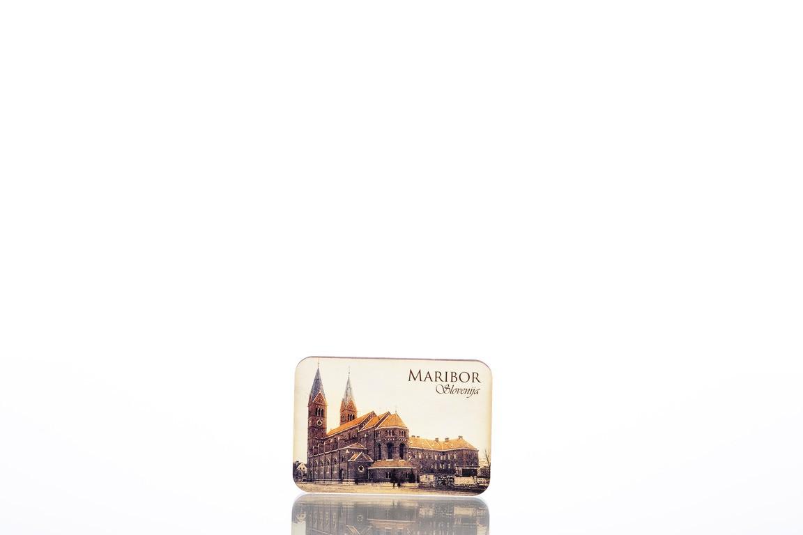 Wooden Fridge Magnet