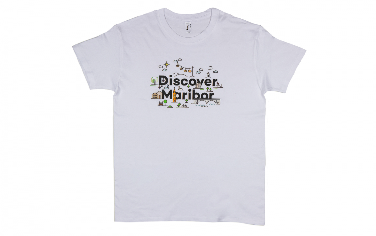 T-Shirt Discover Maribor Mann