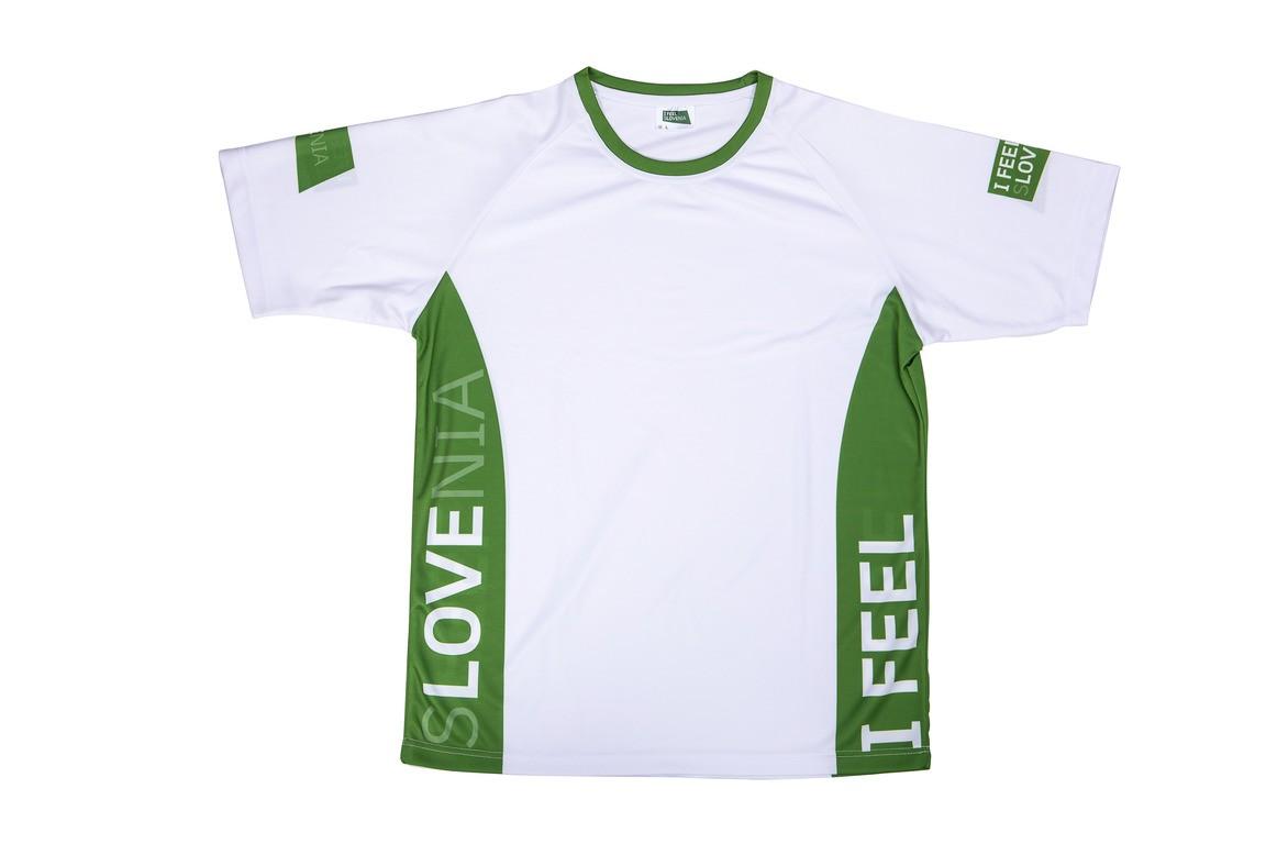 Tekaški dres I feel Slovenia - moški
