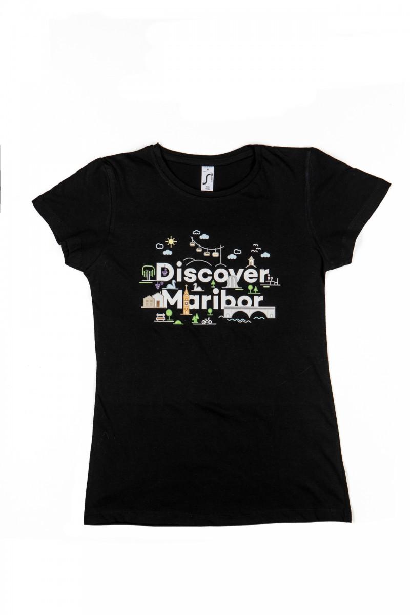 Majica Discover Maribor ženska