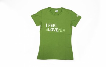 I feel Slovenia T-shirt for Women